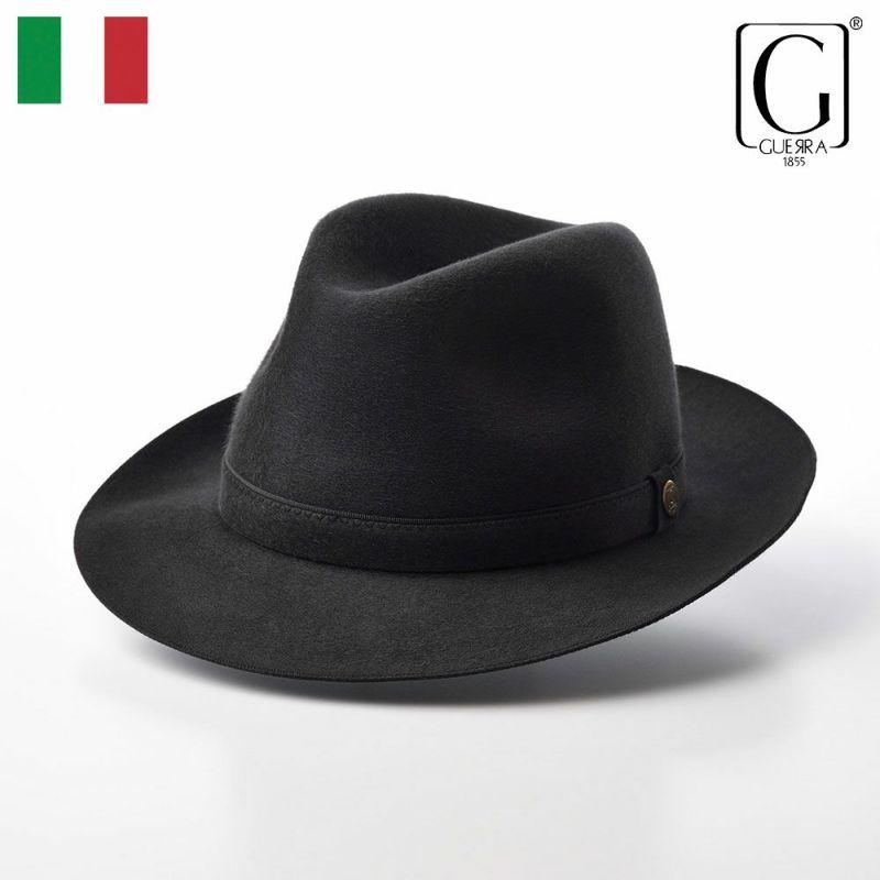帽子 フェルトハット GUERRA(ゲラ) Cashmere Hat(カシミヤ ハット) G015 グレー