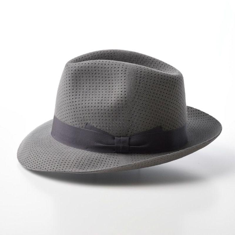 Rabbit Fur Hat(ラビットファー ハット) T1751 グレー