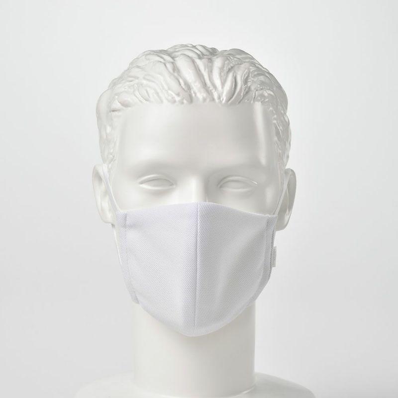 日本製 マスク 制菌・消臭・洗えるエリプリ布マスク ホワイト