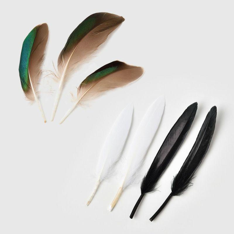 帽子用羽飾り 3本セット