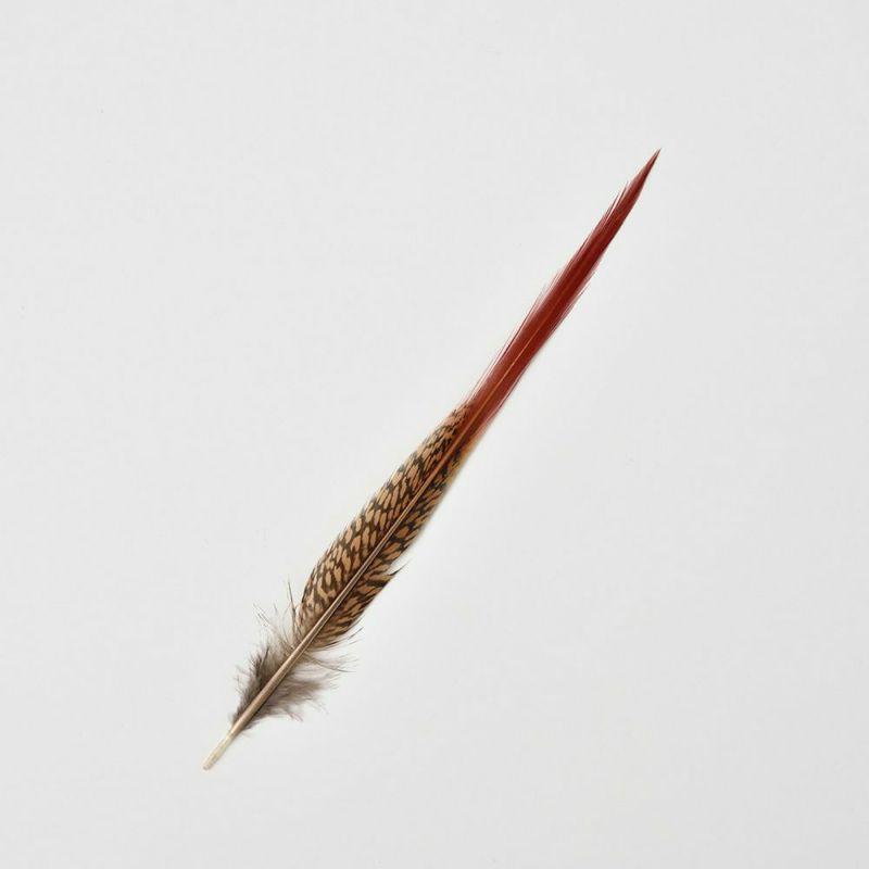 帽子用羽飾り ロング