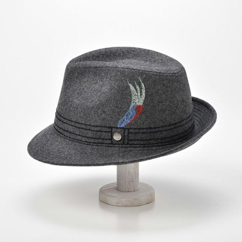 New Lescaut Feather Embroidery(ニューレスコー フェザーエンブロイダリー) D0008 グレー