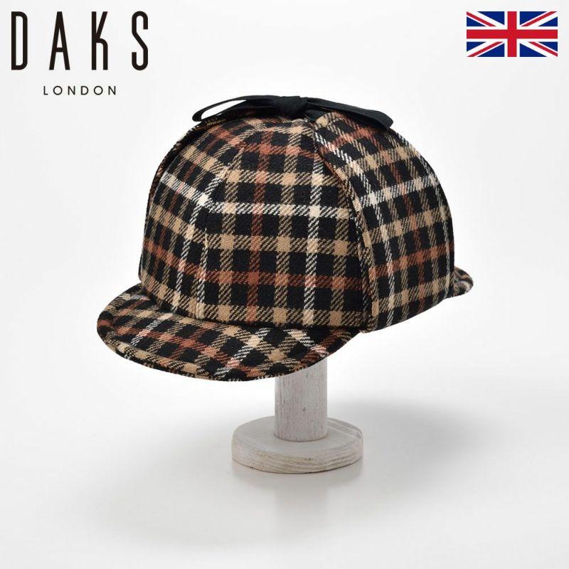 帽子 ニット DAKS(ダックス) Sherlock Tartan Check(シャーロック タータンチェック) D3306 ブラックハウス