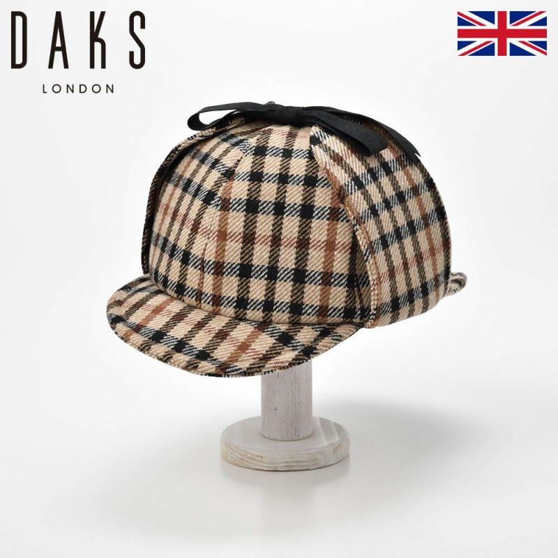 帽子 ニット DAKS(ダックス) Sherlock Tartan Check(シャーロック タータンチェック) D3306 ハウスチェック