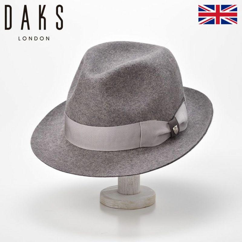 帽子 ハット DAKS(ダックス) Manish MixFur(マニッシュ ミックスファー) D3531 グレー