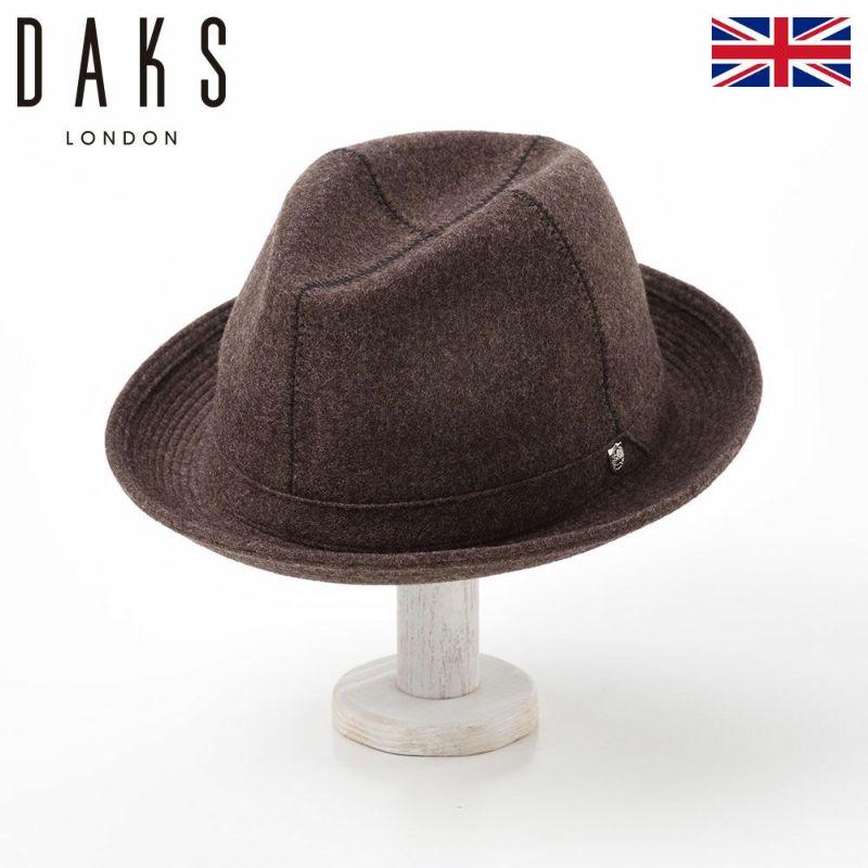 帽子 ハット DAKS(ダックス) Manish Wool(マニッシュ ウール) D3571 ブラウン