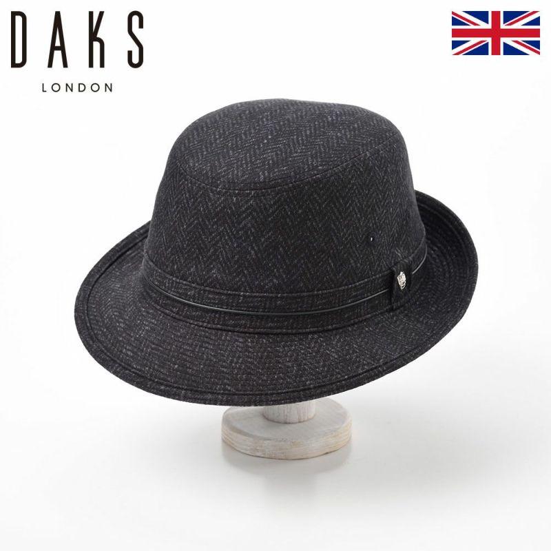 帽子 ハット DAKS(ダックス) Aplen Herringbone(アルペン ヘリンボン) D3609 グレー