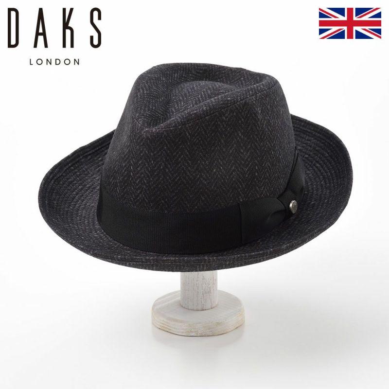 帽子 ハット DAKS(ダックス) SaintPaul Herringbone(セントポール ヘリンボン) D3655 グレー