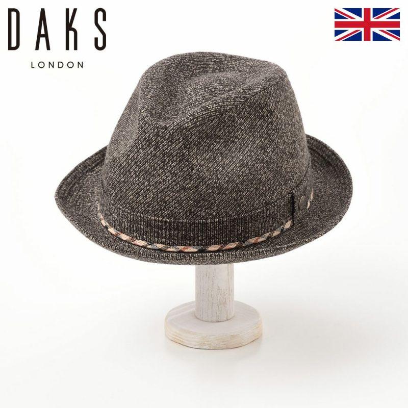 帽子 ハット DAKS(ダックス) New Lescaut JS(ニューレスコー ジャガードスエード) D3670 ブラウン