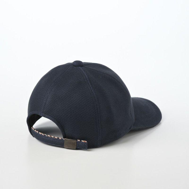 Cap JS(キャップ ジャガードスエード) D3673 ネイビー