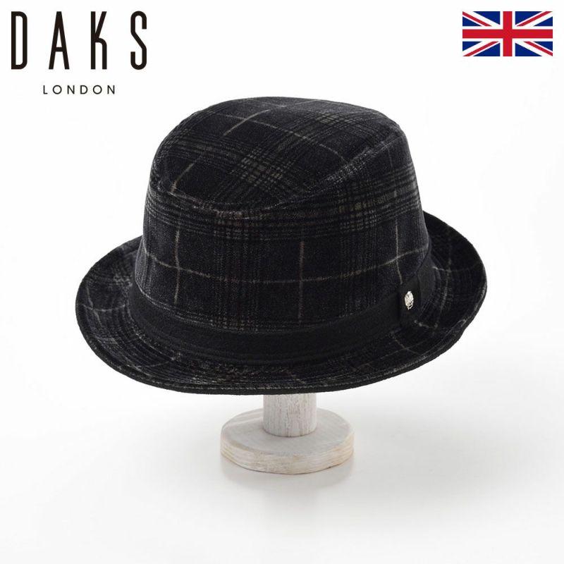 帽子 ハット DAKS(ダックス) Alpen Pontoglio Velvet(アルペン ポントリオベルベット) D3707 ブラック
