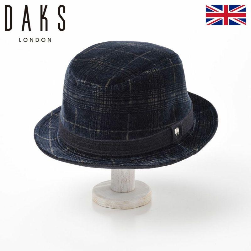 帽子 ハット DAKS(ダックス) Alpen Pontoglio Velvet(アルペン ポントリオベルベット) D3707 ネイビー