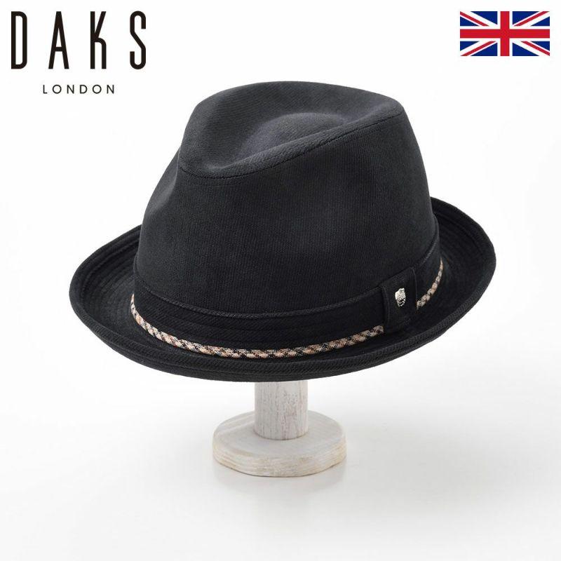 帽子 ハット DAKS(ダックス) New Lescaut OLFE(ニューレスコー オルフェ) D3713 ブラック
