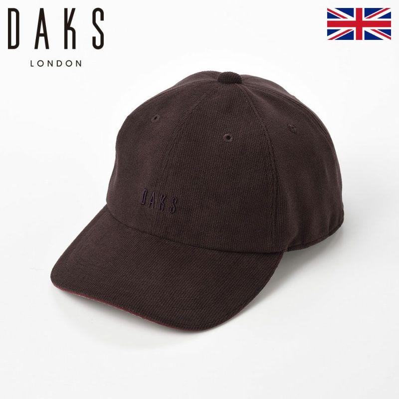 帽子 キャップ DAKS(ダックス) Cap OLFE(キャップ オルフェ) D3715 ブラウン