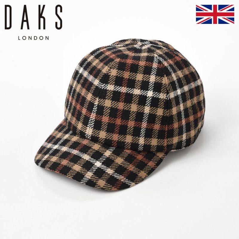 帽子 キャップ DAKS(ダックス) Cap Wool Tartan(キャップ ウールタータン) D3731 ブラックハウス