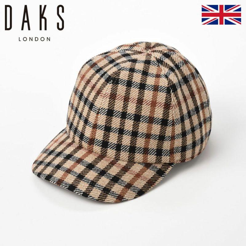 帽子 キャップ DAKS(ダックス) Cap Wool Tartan(キャップ ウールタータン) D3731 ハウスチェック