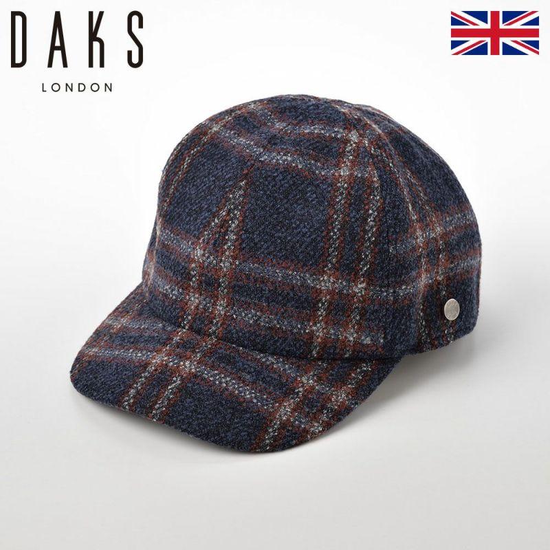 帽子 キャップ DAKS(ダックス) Cap Boucle(キャップ ブークレ) D3762 ネイビー
