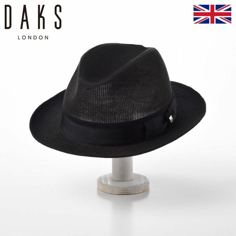 帽子 ハット DAKS(ダックス) Manish THERM-IC(マニッシュ サーミック) D3773 ブラック