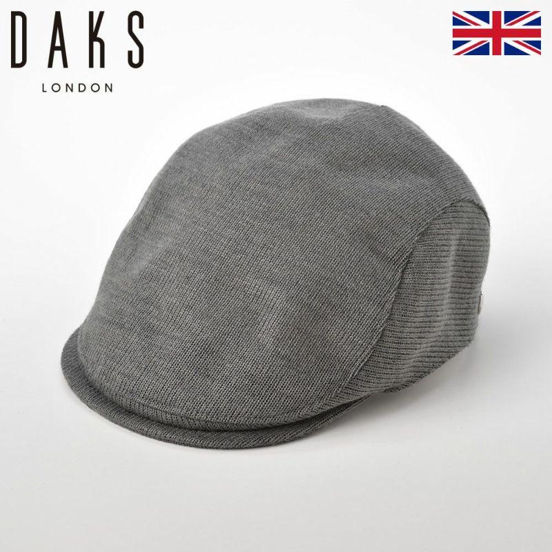 帽子 ハンチング DAKS(ダックス) Hunting THERM-IC(ハンチング サーミック) D3774 グレー