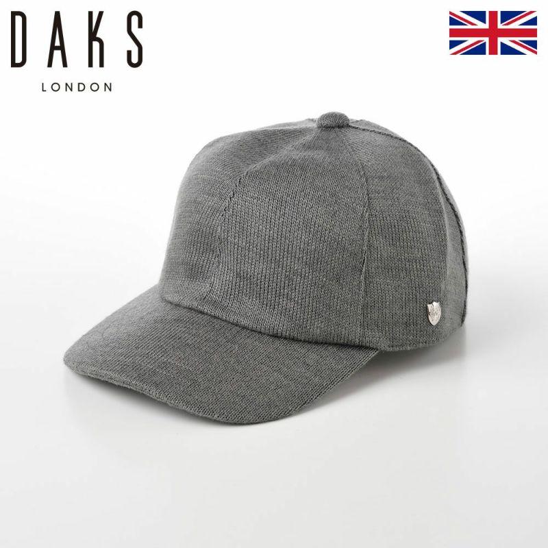 帽子 キャップ DAKS(ダックス) Cap THERM-IC(キャップ サーミック) D3775 グレー