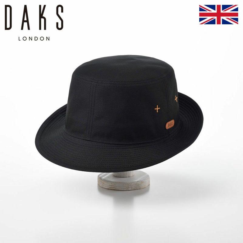 帽子 ハット DAKS(ダックス) Alpen Weather Cloth(アルペン ウェザークロス) D3802 ブラック