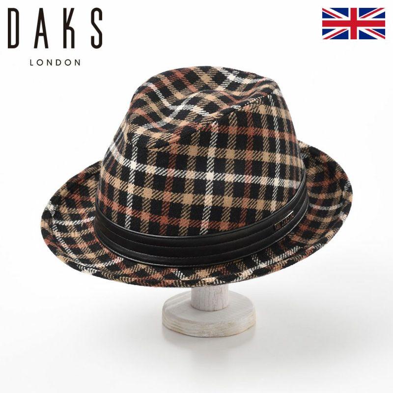 帽子 ハット DAKS(ダックス) Safari Tartan Check(サファリ タータンチェック) D3807c ブラックハウス