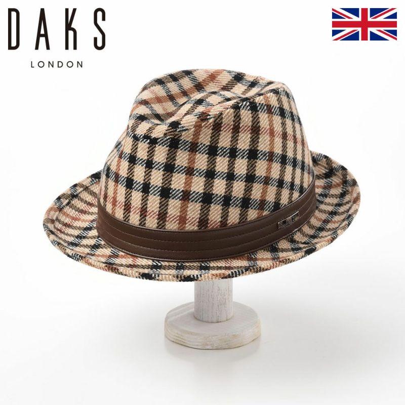 帽子 ハット DAKS(ダックス) Safari Tartan Check(サファリ タータンチェック) D3807c ハウスチェック