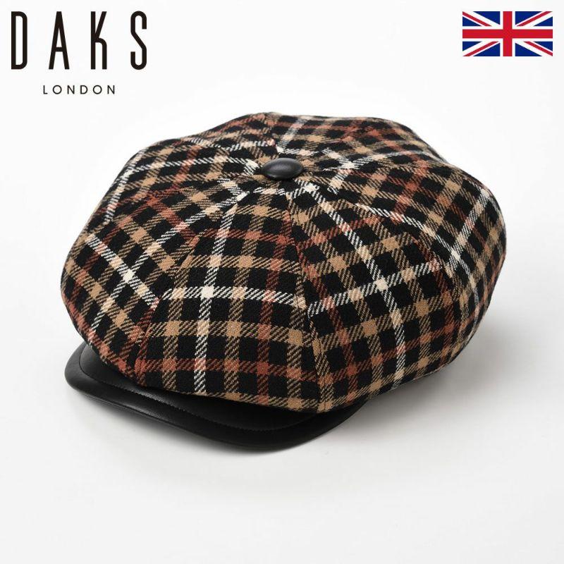 帽子 ハンチング DAKS(ダックス) CASKET Tartan Check(キャスケット タータンチェック) D3808 ブラックハウス