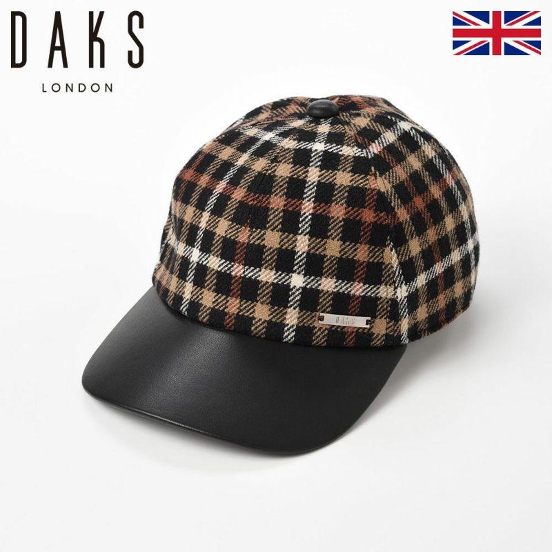 帽子 キャップ DAKS(ダックス) Cap Tartan Check(キャップ タータンチェック) D3809 ブラックハウス