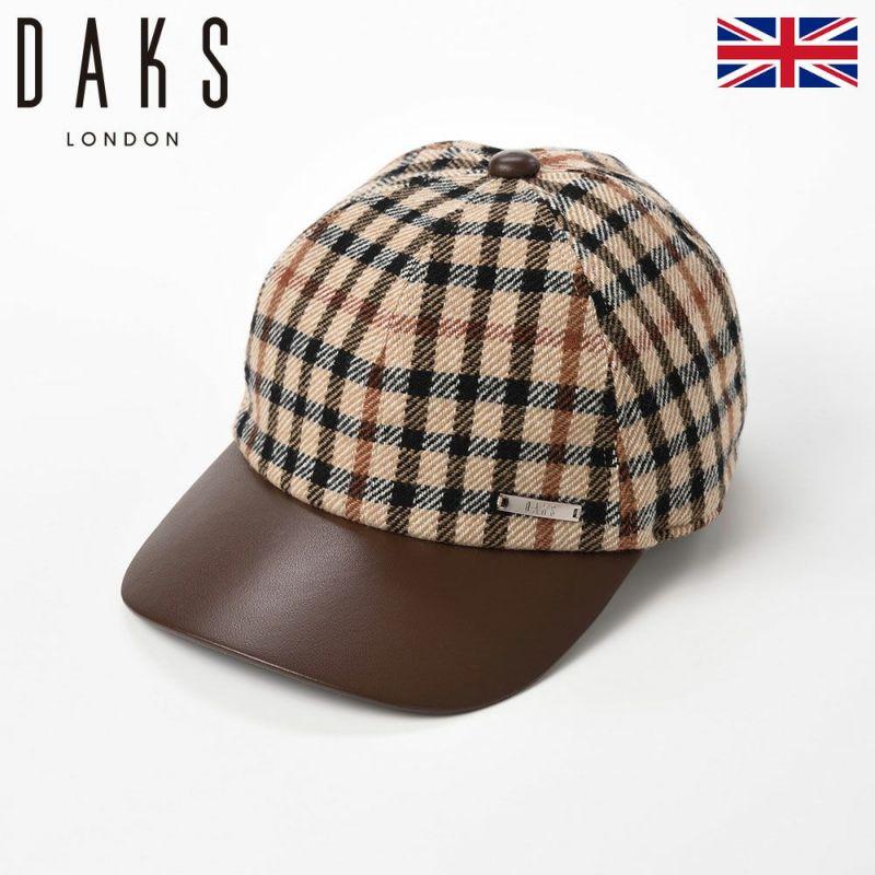 帽子 キャップ DAKS(ダックス) Cap Tartan Check(キャップ タータンチェック) D3809 ハウスチェック