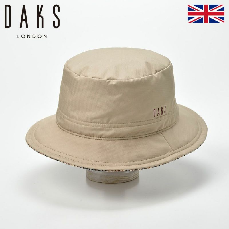 帽子 ハット DAKS(ダックス) Down Alpen(ダウンアルペン) D3813 ベージュ
