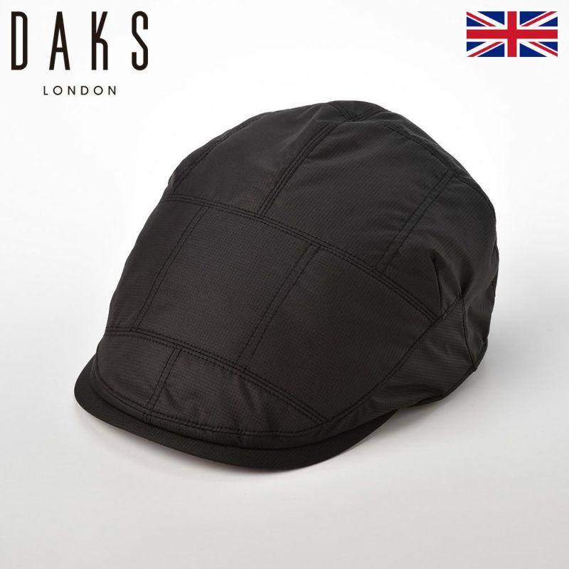 帽子 ハンチング DAKS(ダックス) Down Hunting(ダウンハンチング) D3814 ブラック