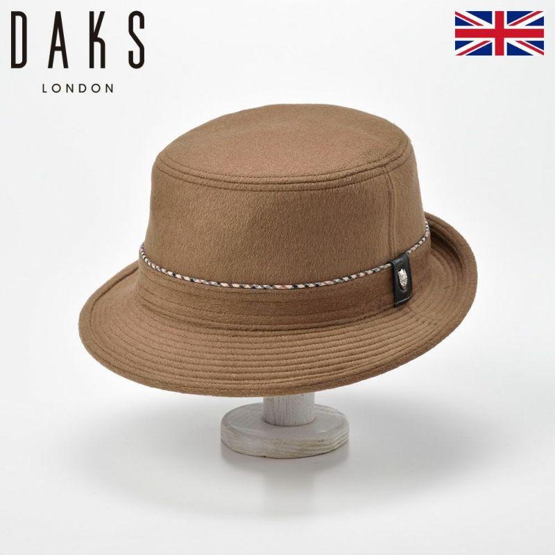 帽子 ハット DAKS(ダックス) Alpen Cashmere Mix(アルペン カシミヤミックス) D3817 キャメル