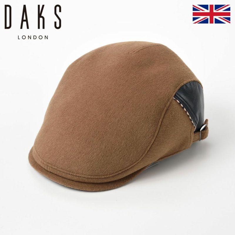帽子 ハンチング DAKS(ダックス) Hunting Cashmere Mix(ハンチング カシミヤミックス) D3818 キャメル