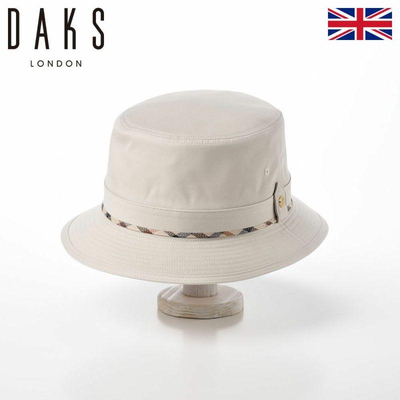 帽子 ハット DAKS(ダックス) Safari Coat Cloth(サファリ コートクロス) D5105 アイボリー