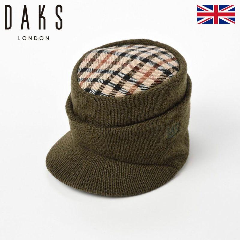 帽子 キャップ DAKS(ダックス) Cap Oslo(キャップ オスロ) D5511 オリーブ
