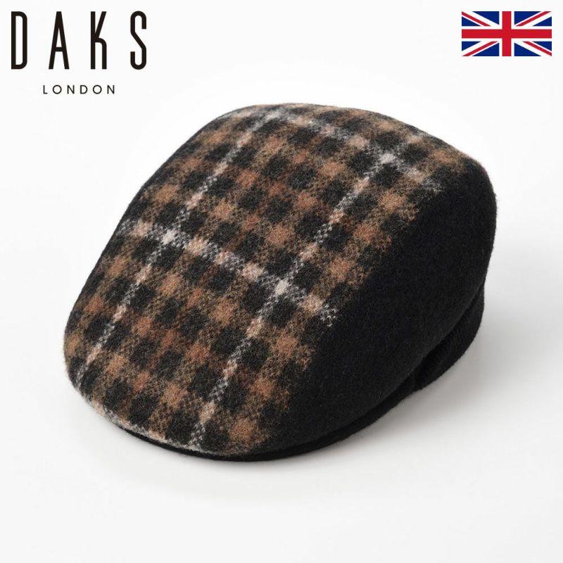 帽子 ハンチング DAKS(ダックス) Hunting Basque Wool(ハンチング バスク ウール) D5526 ブラック