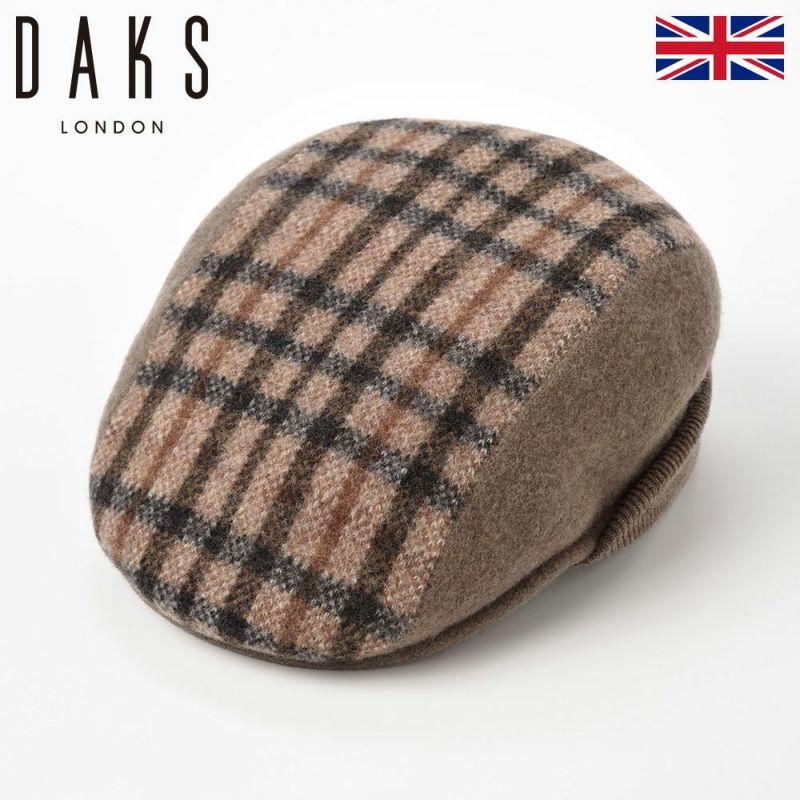 帽子 ハンチング DAKS(ダックス) Hunting Basque Wool(ハンチング バスク ウール) D5526 ブラウン