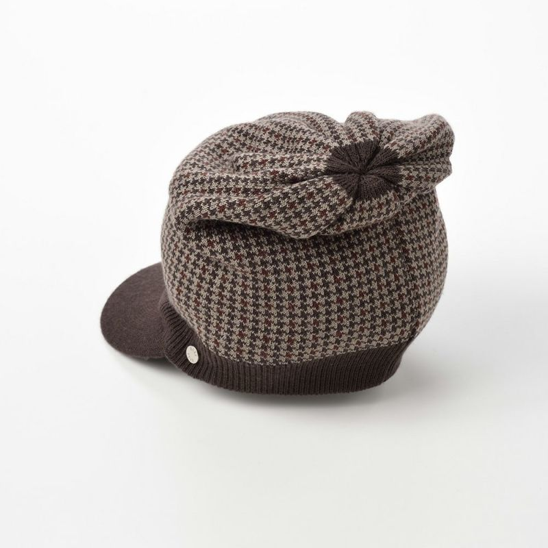 Knit Cap(ニットキャップ) D5565 ブラウン