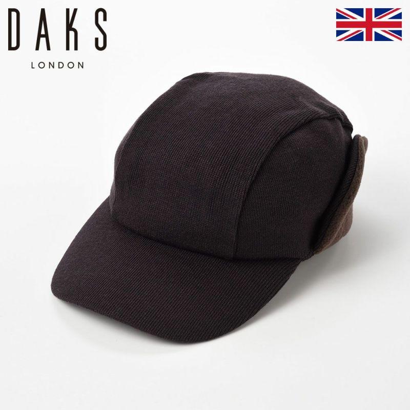 帽子 ニット DAKS(ダックス) Cap EarMuff(キャップ イヤーマフ) D5577 ブラウン