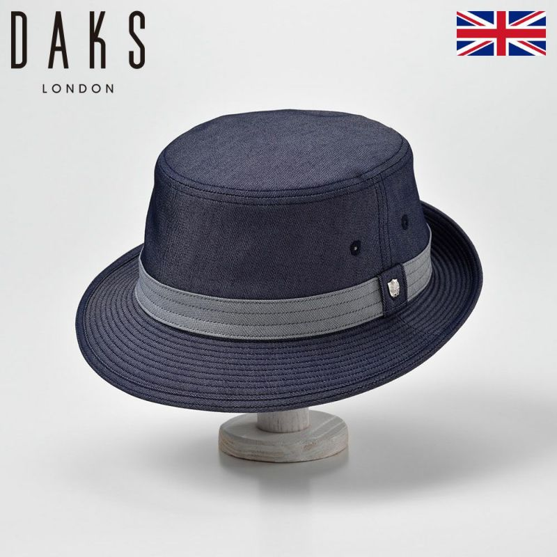 帽子 ハット DAKS(ダックス) Alpen Cool Max(アルペン クール マックス)D1683 ネイビー