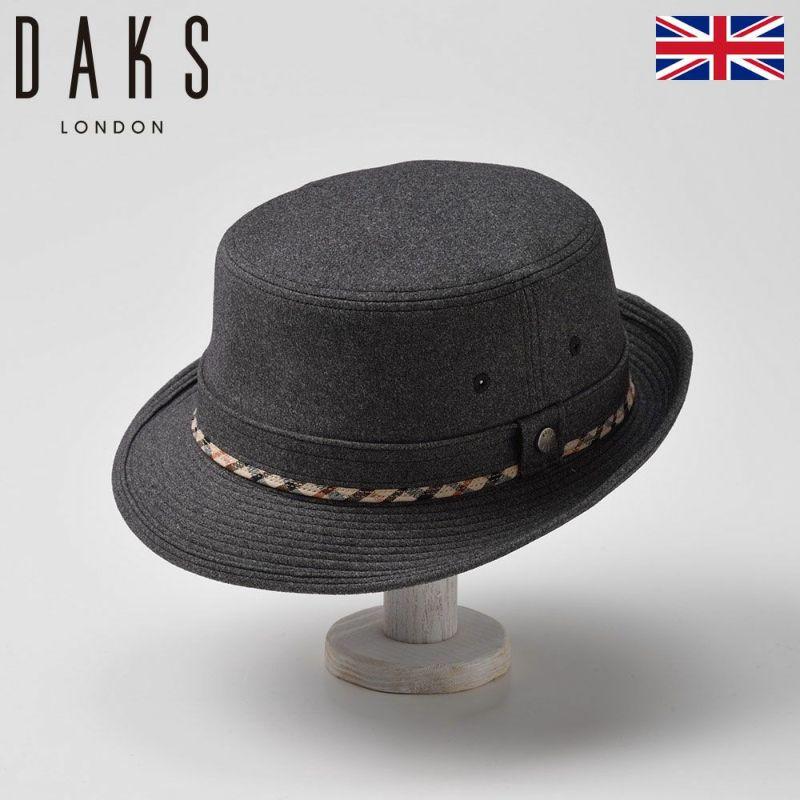 帽子 ハット DAKS(ダックス) Alpen Flano(アルペン フラノ)D3614 グレー