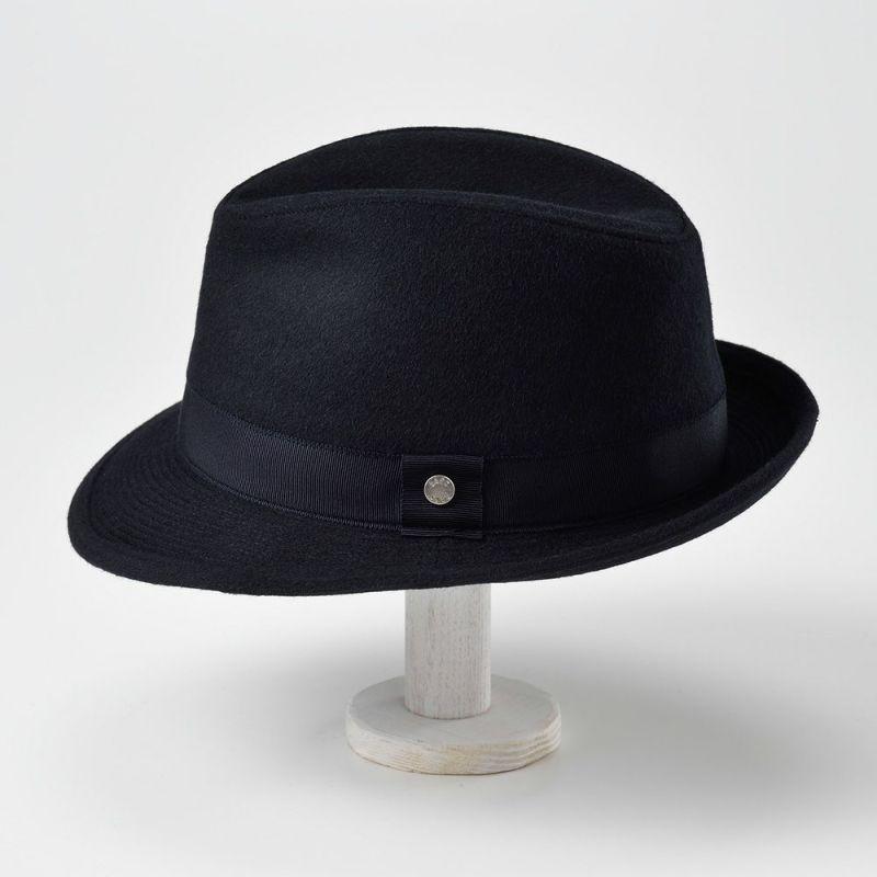 Hat Crushable NB(ハット クラッシャブル ノビリアビーバー)D3757 ネイビー