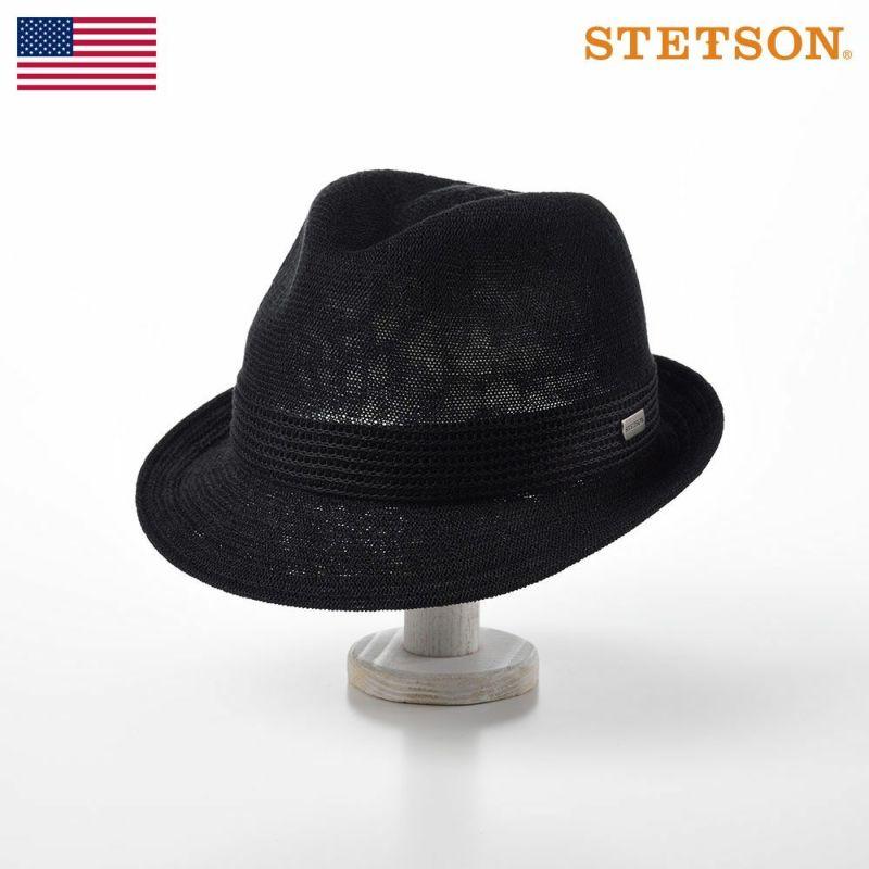 帽子 ソフトハット STETSON(ステットソン) MANISH THERMO KNIT(マニッシュ サーモ ニット)SE105 ブラック