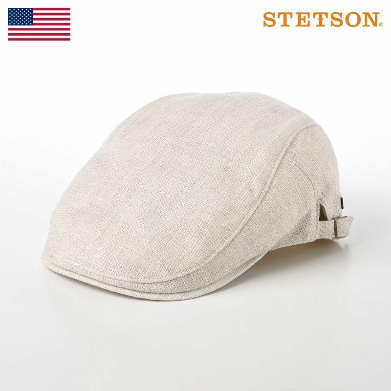 帽子 ハンチング STETSON(ステットソン) SIDE FREE HUNTING(サイド フリー ハンチング)SE183 アイボリー