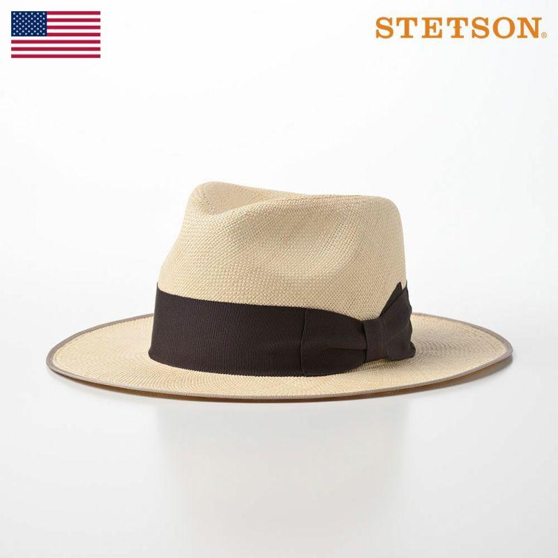 帽子 パナマハット STETSON(ステットソン) Flat WHIPPET PANAMA G3(フラット ウィペット パナマ)SE456 ナチュラル