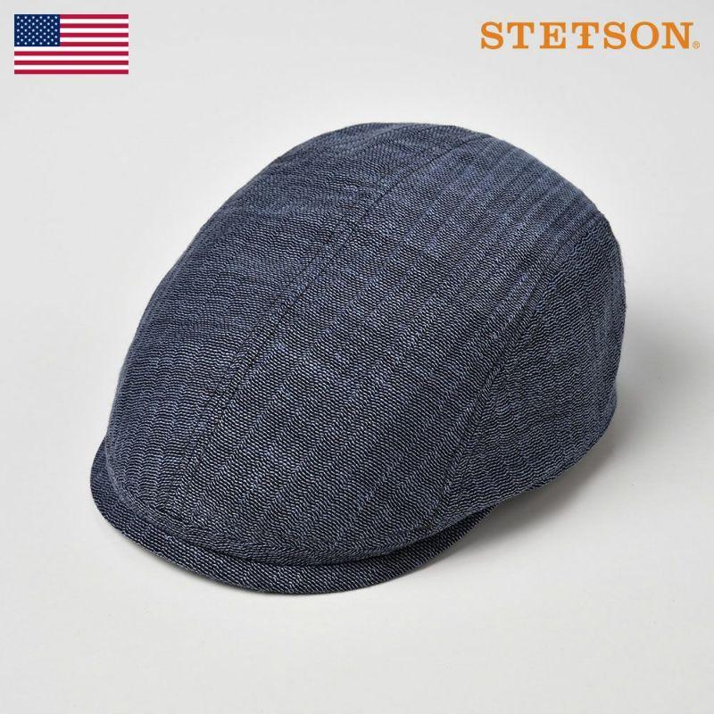 帽子 ハンチング STETSON(ステットソン) KARAMI HUNTING(カラミ ハンチング)SE531 ネイビー