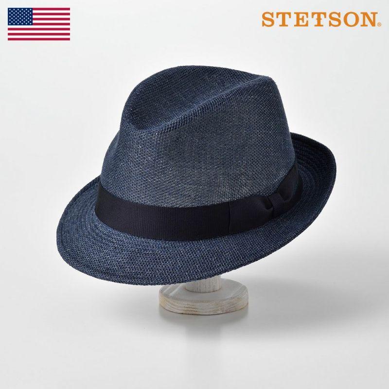 帽子 ソフトハット STETSON(ステットソン) LINEN MESH HAT(リネン メッシュ)SE536 ネイビー