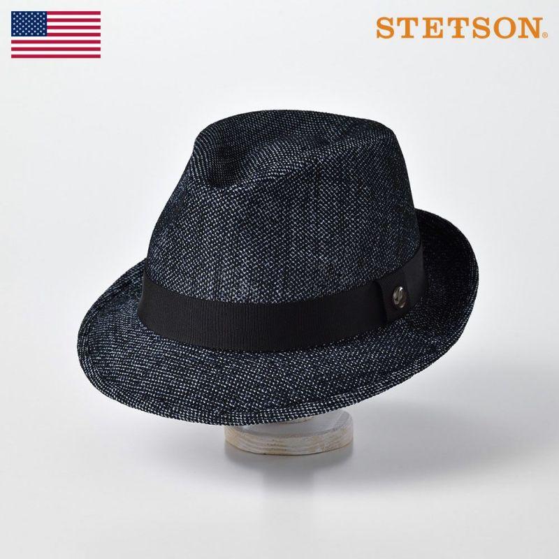 帽子 ソフトハット STETSON(ステットソン) KARAMI DENIM HAT(カラミ デニム ハット)SE539 ネイビー