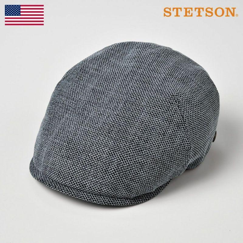 帽子 ハンチング STETSON(ステットソン) KARAMI DENIM HUNTING(カラミ デニム ハンチング)SE540 ブルー
